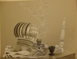 Toned Paper Still Life by silverz777