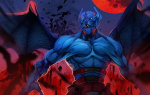 dota2 Night Stalker by biggreenpepper