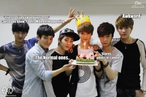 EXO-M_MACRO by dancingdots