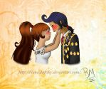 Manolo x Maria(the book of life)+Speed Paint by BiancalaFriky