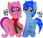 ATG Day 8: Chilly Carollers by RicePoison