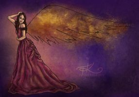 By the Angel by bejeweledmoonphoto