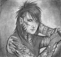 Ashley Purdy by honeycat007