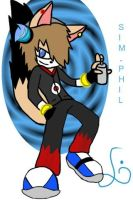 Sim-Phil the fox by sim-phil