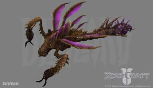 Zerg Viper by PhillGonzo