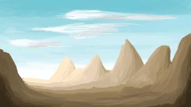 Mountain Range by sizzlee