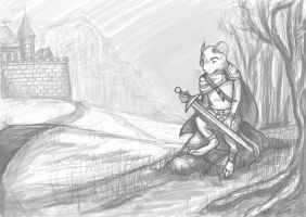 Redwall - The Warrior WIP by Realms-Master