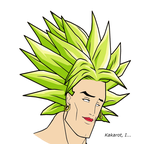 Broly: The Legendary Handsome Saiyan by UsefulYamcha