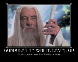 Gandalf the White motivational by DevintheCool