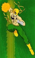 The Immortal Iron Fist Color by Sideways8Studios