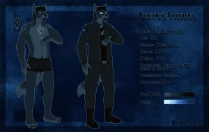 Benjamin Saunders-Reference Sheet by the-MadDog