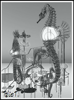 The seahorse by TalieTramontane