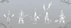 .:Whirlwind of Chaos: Character set 1:. by Kra7en