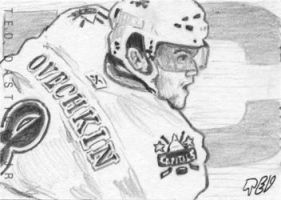 Alexander Ovechkin by tdastick