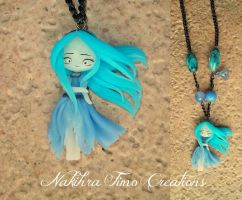Ghost Polymer Clay by Nakihra