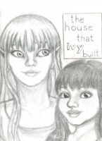Ivy and Nina - Pencil Sketch by swankivy