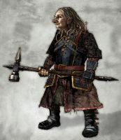Dwarf Soldier by CTReeder