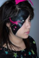 Abstract Star Face Paint by ElleFX