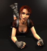 Tomb Raider Legend: Lara Croft (Tanya's Version) 2 by Irishhips