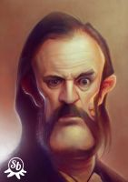 Lemmy (with colours) by PapaNinja