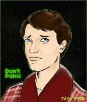 Arthur Dent - Mostly Harmless. by napalmnacey