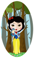 Snow White by Flufflepot