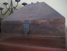 Old Box 4 by Artemis-Stock