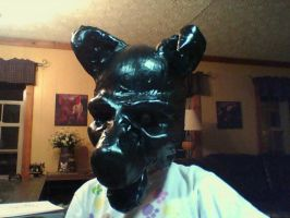 taped mask 2 (with ears) by KaptainLuna