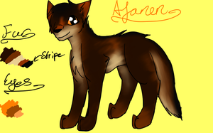 Afanen Ref. Sheet by Cool-Ally