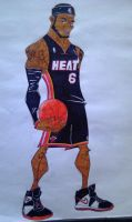 LeBron James by J-Dot-Will