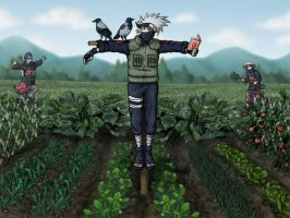 Kakashi as a kakashi by Pepsica