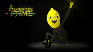 Earl of Lemongrab Wallpaper by Mysterious-Master-X