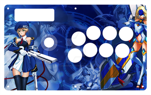 Noel and Mu12 Fightstick TE by aznswordmaster1