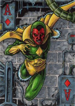 Vision - Sketch Card by tonyperna