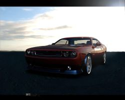 The Dodge Challenger SRT8 392 by Artsoni3D