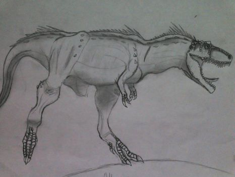 Albertosaurus - Full Body by Fate-Darknu-Dragoon