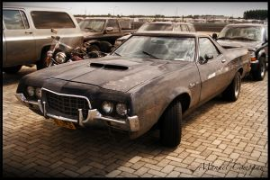 1972 Ford Ranchero 500 by compaan-art