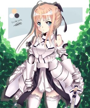 Saber Lily Old work 2 by Xunq