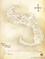 Fantasy Map by CrypticManifestation
