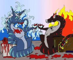 Cup of Blood by Indogralleon