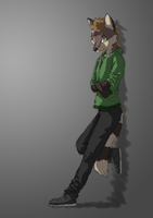 Colored Anthro OC by wanton-fox