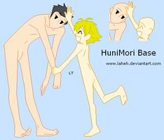 Ouran - HuniMori Base by LahEh