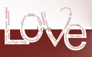 LOVE in 36 different languages...... by akki604