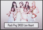 Pack Png SNSD Lion Heart #37 by alwaysmile19