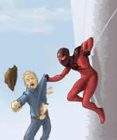 Scarlet Spider by facelesscow