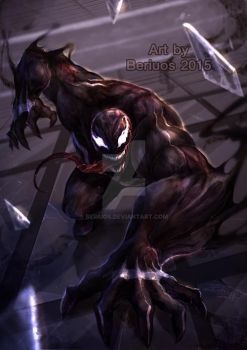Marvel : Venom by Beriuos