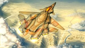 XF-42 Ochre Jasmin by UNGDI-SEA
