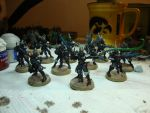 Dark Eldar - Kabalite Warriors (WIP) by Quiet-Lamp