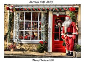 Santa's Gift Shop by Deb-e-ann