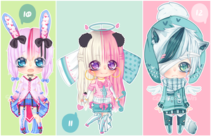 [ 10 - 12 ] Set Price: Open [ 2 / 3 ] by CookiiesPWN